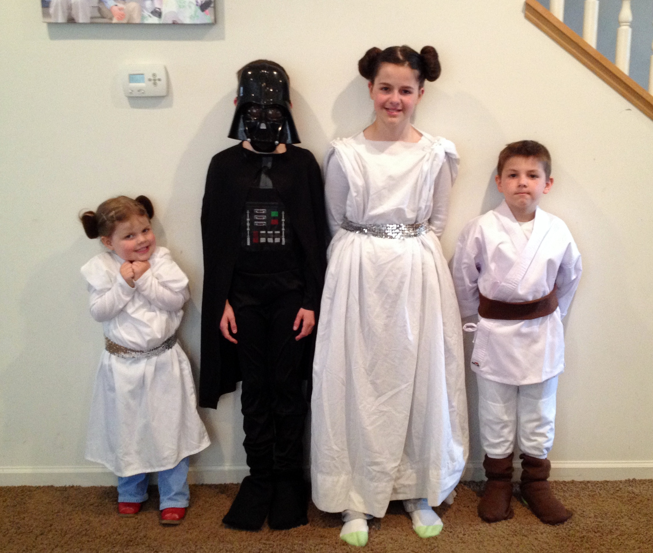 quick and easy star wars costumes - christina's attic