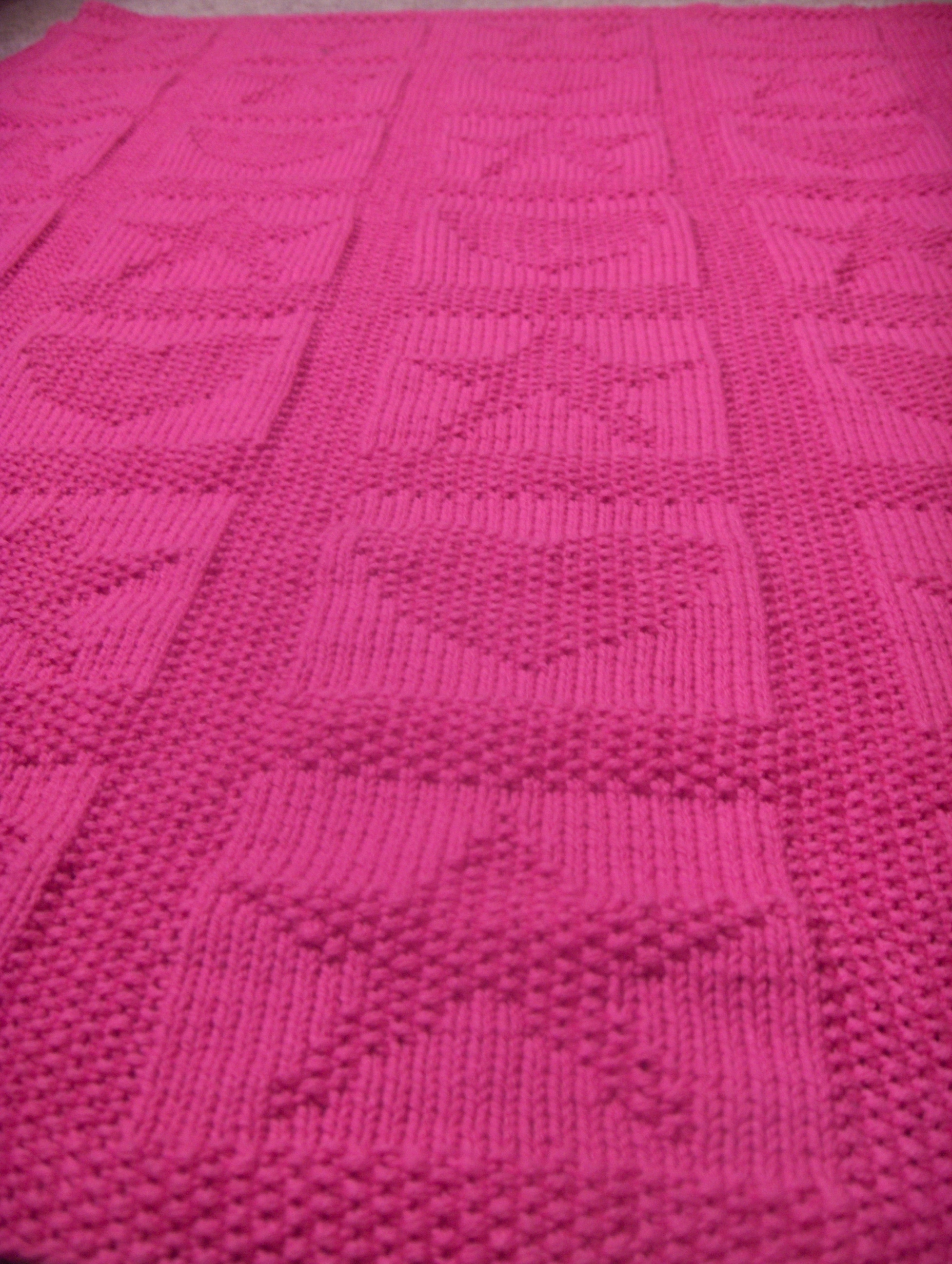 Knitting Patterns For Baby Blankets With Hearts : Heart Baby Blanket Easy Knitting Pattern Motorcycle Review and Galleries